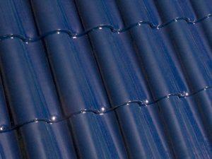глянцевый синий